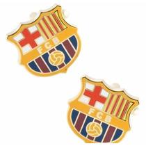 Mancuernillas Fc Barcelona Football Club Plateadas Champions