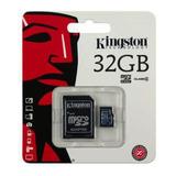 Memoria Micro Sd 32gb Kingston C4 Celular Mayoreo Nueva