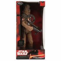 Chewbacca Luz Parlante Disney Store Star Wars Importada
