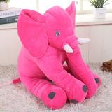 Peluche Almohada Elefante Bebé Juguete Varios Colores, 65 Cm