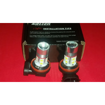 H11 Led 10 Smd 5050 C/lupa Proyectora