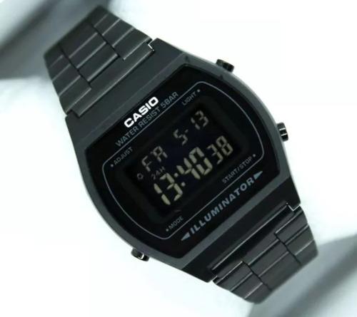 2cab4991ef97 Reloj Casio Negro Dorado Acero Retro Vintage
