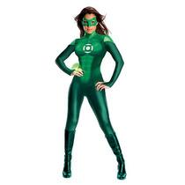 Uniforme Green Lantern Halloween Costume Adultas - Tamaño Me