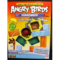 Angry Birds Sobre Hielo, Juego De Mesa, Mattel On Ice