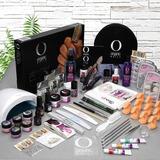 Kit Uñas Qbexa Prokit Organic Nails, Lámpara 48w Y Point Gel