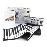 Teclado Midi Flexible Piano De 61 Teclas Audifonos Musica Or