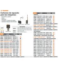 Carbones De Repuesto Para Esmeriladora Esma-4-1/2a2