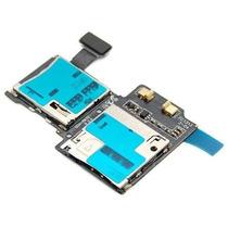 Flex Samsung Galaxy S4 I9500 Lector Memoria Sd Tarjeta Sim