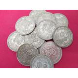 Monedas 50 Centavos Resplandor En Plata Ley .720.
