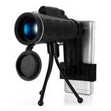 Monocular Telescopio Zoom Alto Alcance 40x60 Estuche Tripie
