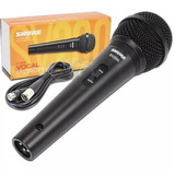 Shure Sv200 Micrófono De Mano Para Cantantes Y Presentadores