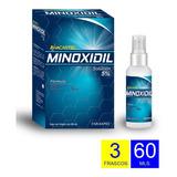Minoxidil 5% - 3 Meses Envío Gratis