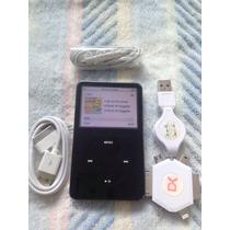 Ipod Audio Y Video. De 30 Gb Negro. Funcionando. Al 100 Usad