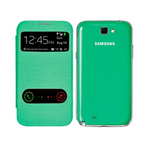 Samsung Galaxy Note 2 N7100 Flip Cover Piel S View 2 Ventana