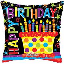 Happy Birthday Tanti Auguri Feliz Cumpleaños Lob Globos 5 Pz