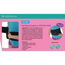 Soporte Faja Lumbar Hot/cold Pack Aplicación De Frío O Calor