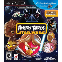 Ps3 - Angry Birds Star Wars Nuevo Y Sellado - Ag Vv4