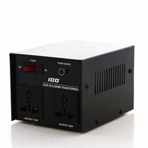 Convertidor De Voltaje 100w Subida/bajada 110/220v 220v/110v