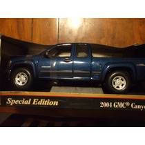 Camioneta Gmc Canyon 2004 A Escala 1/18