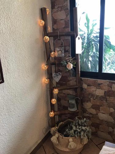 Escalera Perchero Decorativa Bambu En Venta En Viveros Del