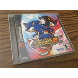 Sonic Adventure 2 Dreamcast Completo Estuche Manual Portada