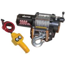 Winch - Malacate Elcectrico De 2,045 Kgs Calidad Industrial