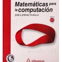 Libro: Matemáticas Para La Computación Pdf