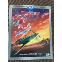 Remate Aviones Disney Bluray 3d Nuevo Y Sellado