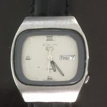 Reloj Seiko 5 Automatico Vintage Con Dia Y Fecha #127