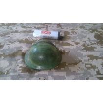 Miniatura Casco Militar Adrian De Bronce
