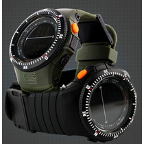 Reloje Tipo Militar Sport Navy Seal 2 Colores Sumergible 50m