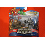 Marvel Super Hero Squad 2 Pack Rhino Y Spider Man Armor