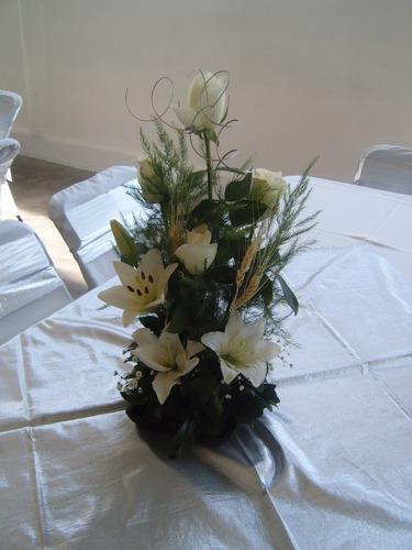 Arreglos Florales Para Centros De Mesa Boda Xv Años Bautizo