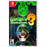 Luigi's Mansion 3 Nintendo Switch Nuevo Fisico En Español