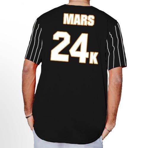 Jersey Béisbol Hombre Bruno Mars 24k Hooligans Personalizado en ... a46c14525d135