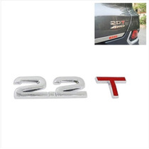 Decalque De Metal Cromado 3d 2.2t Para Carro