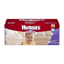 Huggies Little Movers Pañales Tamaño 3 174 Count (embalaje P
