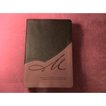 Biblia De Estudio Macarthur Piel Cafe/terracota
