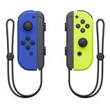 Control Joystick  Inalámbrico Nintendo Joy-con Azul/amarillo Neón