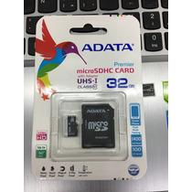 Micro Sd De 32gb Clase 10 Adata