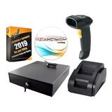 Kit Punto De Venta, Cajon, Impresora, Lector Y Software Itpv