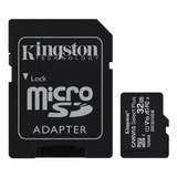 Memoria Micro Sd 32gb 100mb/s Clase 10 Kingston Adaptador