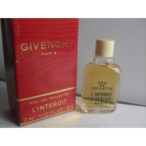 Perfume Miniatura Coleccion Givenchy L Interdit 3 Ml