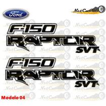 Stickers Ford F150 Raptor Svt Calcomanias Costado Batea