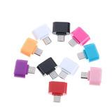 Mini Adaptador Otg V8 Micro Usb A Usb