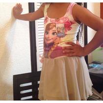 Vestidos Elsa Frozen, Elsa Y Anna Solo 150 Pesos