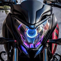 Proyector Led Lupa Universal Para Motocicleta 2200 Lm Pulsar