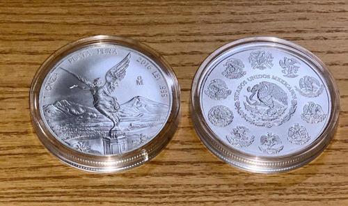Moneda Onza Libertad Plata 1oz Ley .999 Cápsula Envío Gratis