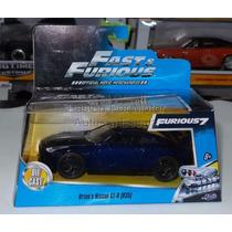 1:32 Nissan Gt-r R35 Brian´s Rapido Y Furioso Jada