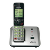 Teléfono Inalámbrico Vtech Cs6619-2 Negro Y Plateado